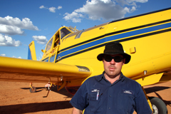 Matt Plucinski, aerial suppression researcher