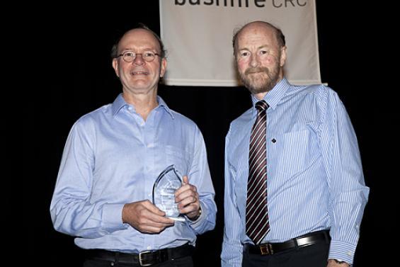 Special award for Prof John Handmer