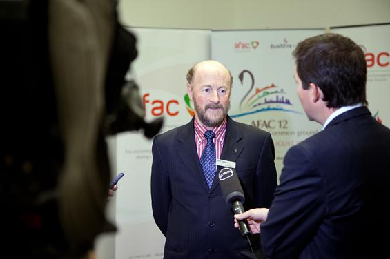Bushfire CRC CEO Gary Morgan discusses natural hazards research with Channel 10.