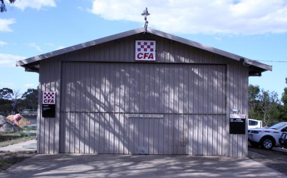 Brigade shed at Anakie