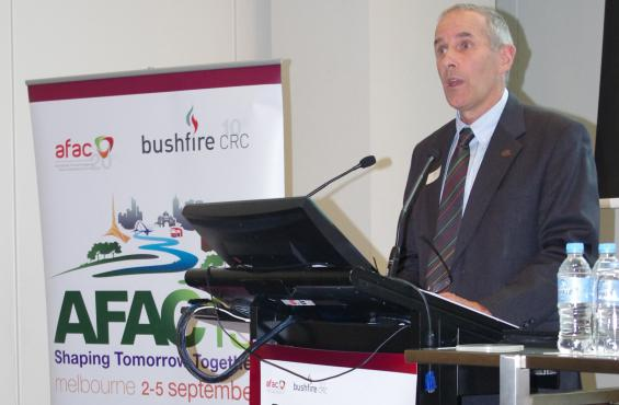 CFA Chief Officer Euan Ferguson launched the conference
