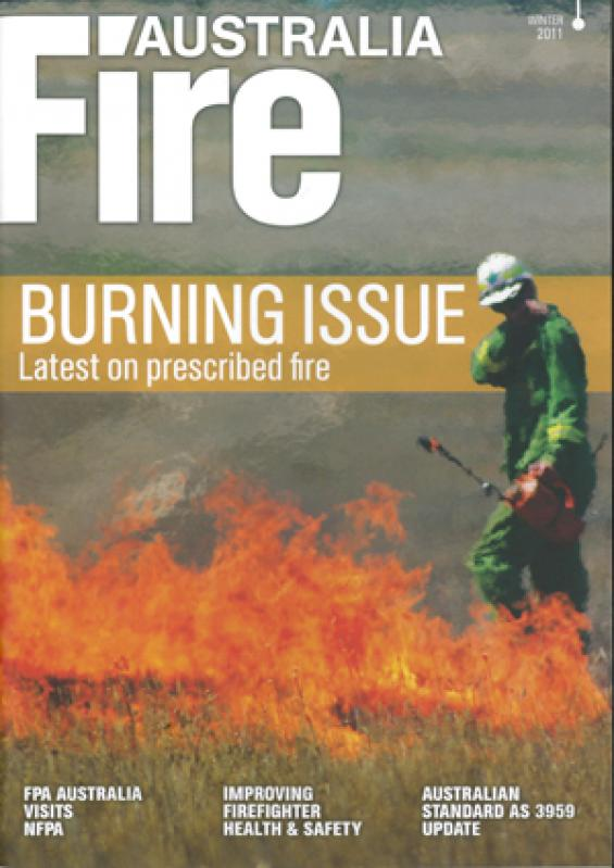 Fire Australia Winter 2011 edition
