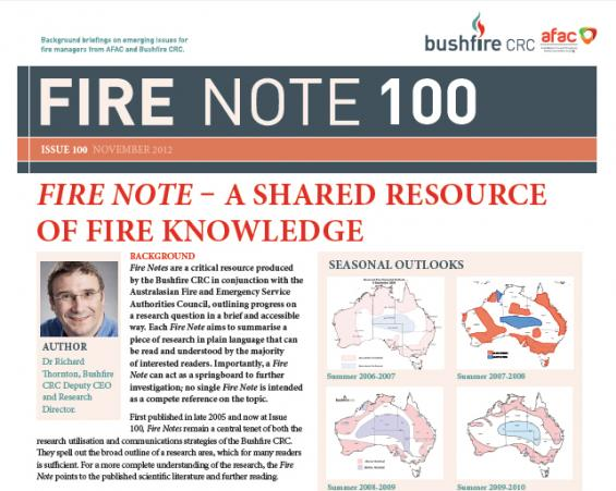 Fire Note 100