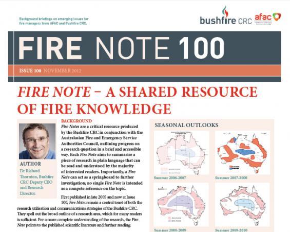 Fire Note 100