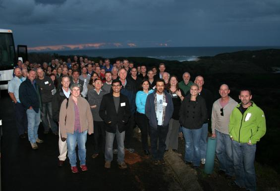 Participants on the field trip to Margaret River