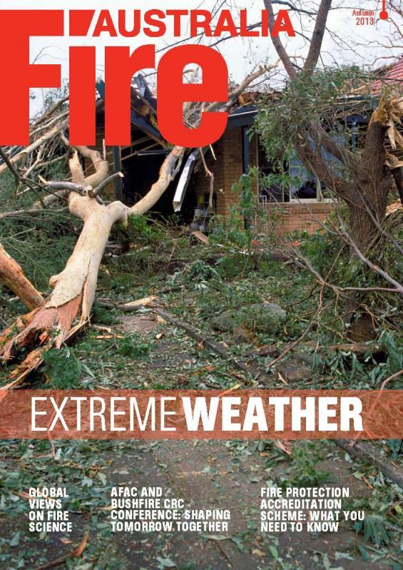 Fire Australia Autumn edition cover