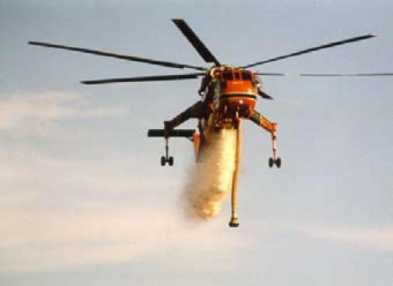 Fighting bushfires from the air