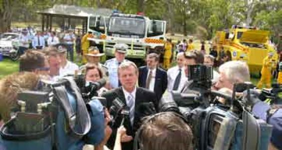 Bushfires and the media