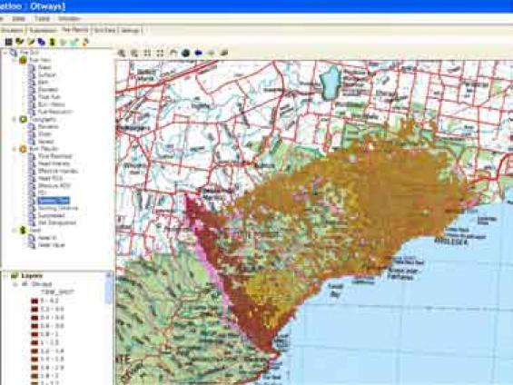 A model way to manage bushfires