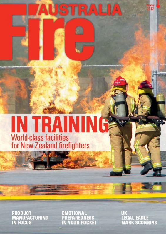 Fire Australia Winter 2012 cover