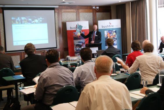 Gary Morgan at the November 23 Stakeholder Council and AGM