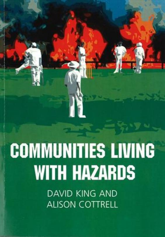 "Cover of book ""Communities Living with Hazards"""