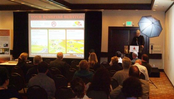 Human Dimensions of Wildland Fire conference Seattle 2012