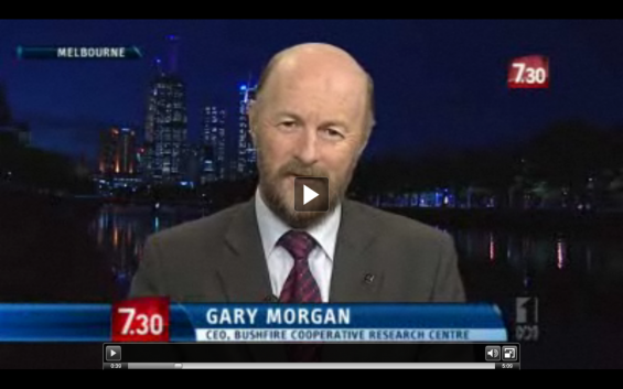ABC 730 Report 4 Jan 2012 - Gary Morgan