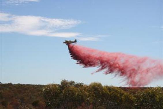 Aerial suppression experiments