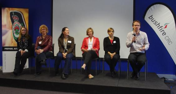 The panel sessions were a popular addition to the forum program
