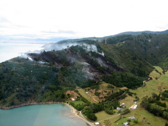 New Zealand bushfire forecast release for 2010-11