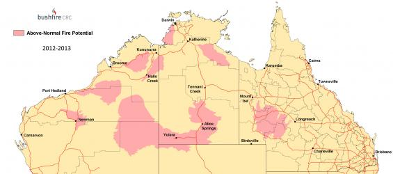 Northern Australia Seasonal Bushfire Assessment 2012