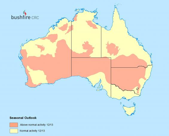 Australian seasonal bushfire assessment 2012-13