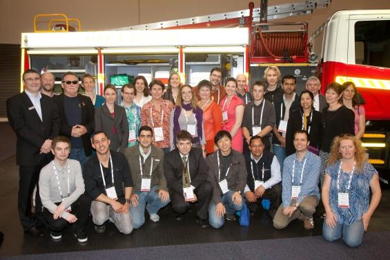 Bushfire CRC PhD students at the AFAC and Bushf