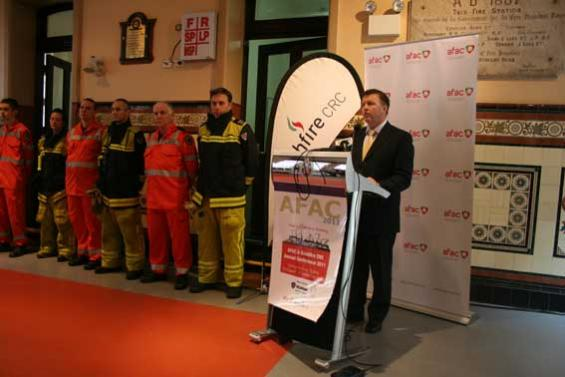 Launch of 2011 conference in Sydney - Minister Gallacher
